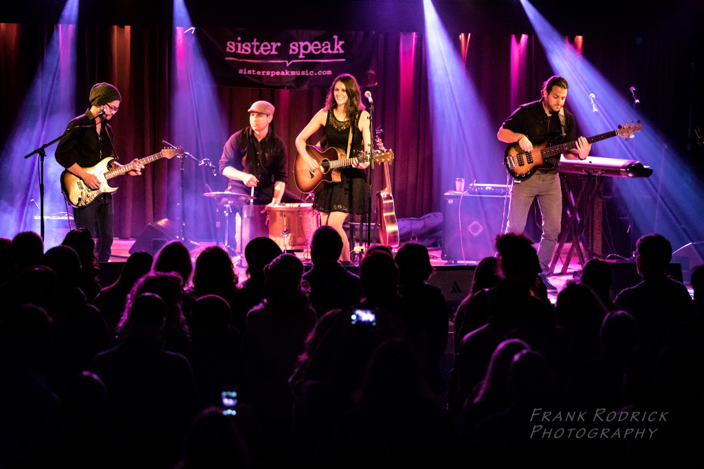 Sister Speak Band at Belly Up (Headliner). Photo by Frank Rodrick